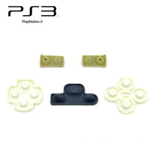 Conductive Rubber Pads For Sony Playstation 3 for PS3 Controllers Buttons Repair Parts